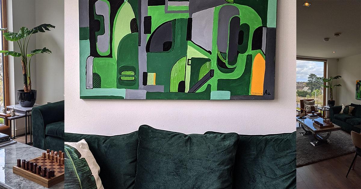 Les meubles foncés de salon – Comment s'adapteront-ils ?